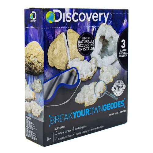 Break Your Own Geodes (Discovery)