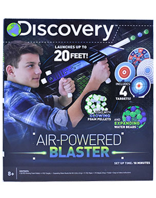 Air-Powered Blasters (Discovery)