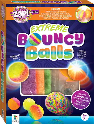 Extreme Bouncy Balls (Zap! Extra)