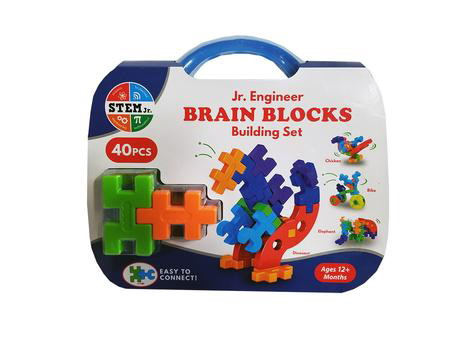 Jr. Engineer Brain Blocks Building Set (STEM Jr.)