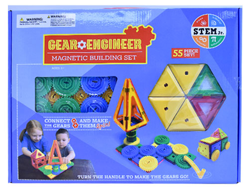 Gear Engineer Magnetic Building Set (STEM Jr.)
