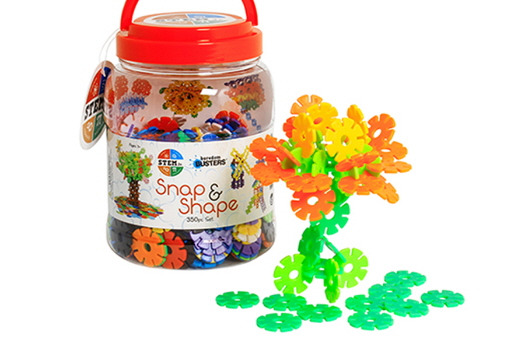 Snap & Shape 400 Piece Set (STEM Jr.)