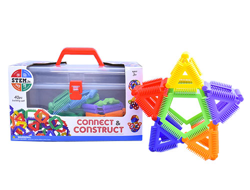Connect & Construct 40 Piece Building Set (STEM Jr.)