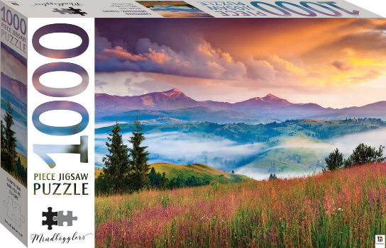 Carpathian Mountains, Europe 1000 Piece Jigsaw Puzzle (Mindbogglers)
