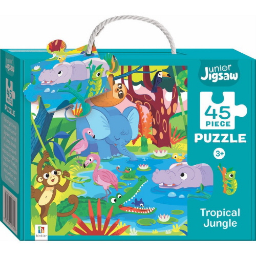 Tropical Jungle 45 Piece Junior Jigsaw Puzzle