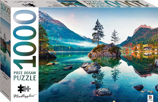 Hintersee Lake, Germany 1000 Piece Jigsaw Puzzle (Mindbogglers)