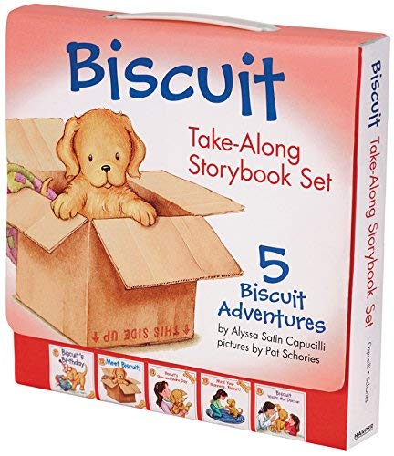Biscuit Take-Along Storybook Set