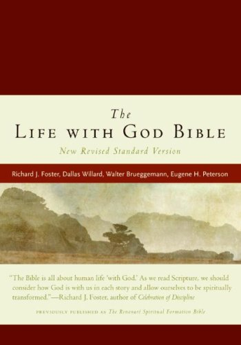 NRSV The Life with God Bible (Burgundy Leathersoft)