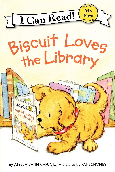Biscuit Loves the Library (I Can Read! My First)