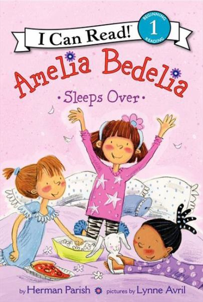 Amelia Bedelia Sleeps Over (I Can Read! Level 1)