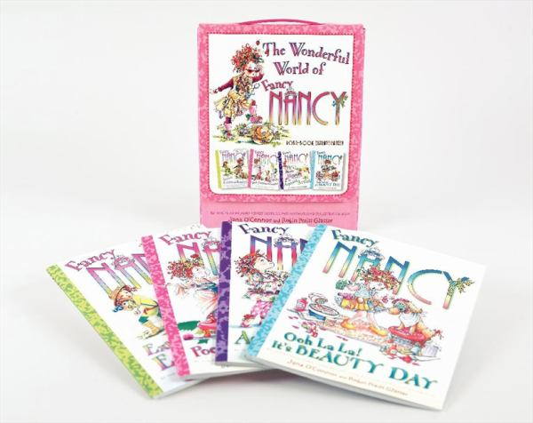 The Wonderful World of Fancy Nancy (4 Book Extravaganza)