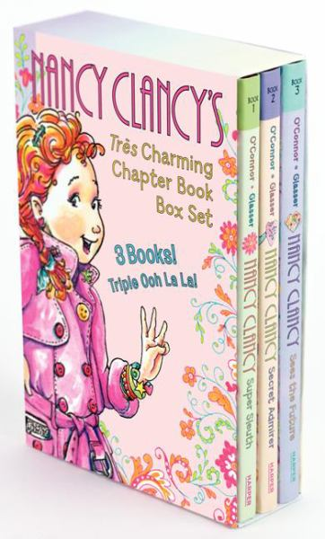 Nancy Clancy's Tres Charming Chapter Book Box Set (Nancy Clancy Sees the Future/Secret Admirer/Super Sleuth)