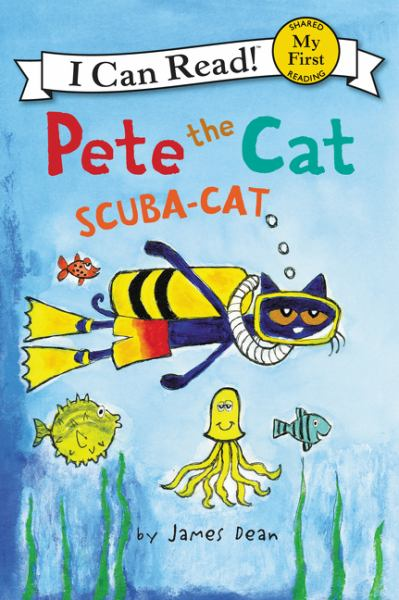 Scuba-Cat (Pete the Cat, My First I Can Read)