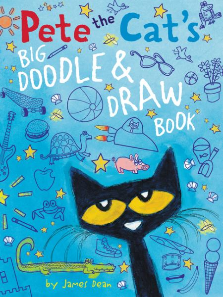 Pete the Cat's Big Doodle and Draw Book