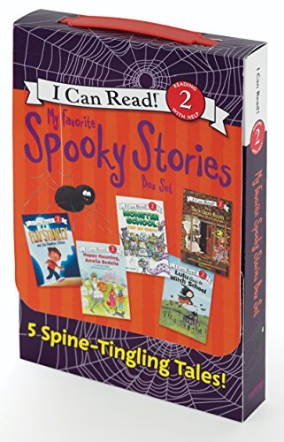 My Favorite Spooky Stories: 5 Spine-Tingling Tales! (I Can Read, Level 2)