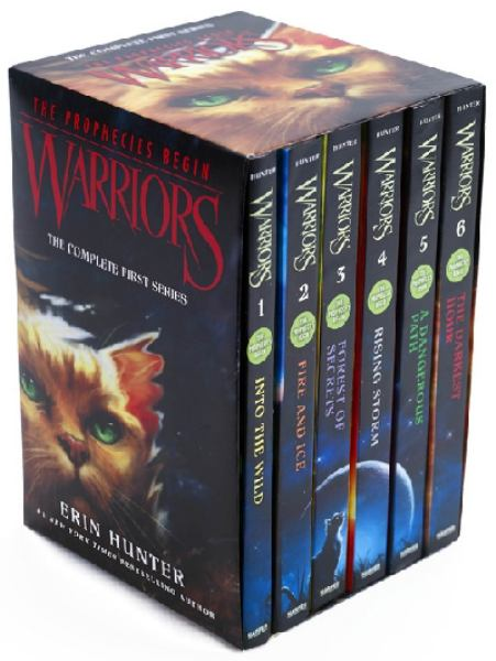 Warriors The Prophecies Begin (The Complete First Series, Bk.'s 1-6)
