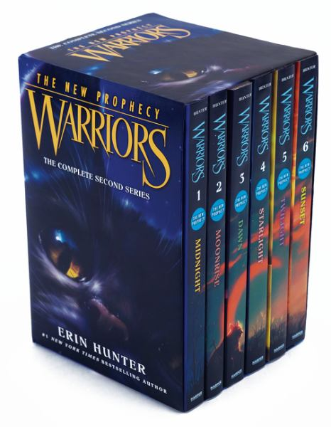 Warriors: The New Prophecy (The Complete Second Series, Bk.'s 1-6)