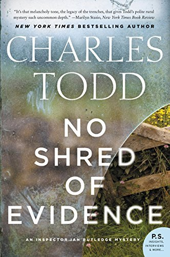 No Shred of Evidence (Inspector Ian Rutledge Mysteries)