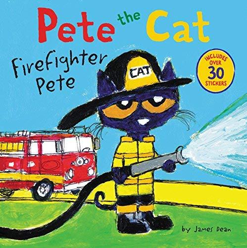 Firefighter Pete (Pete the Cat)