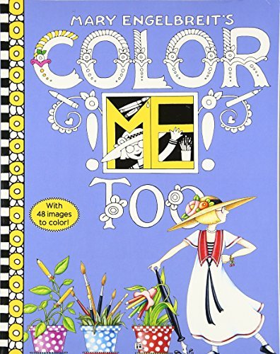 Mary Engelbreit's Color ME Too Coloring Book
