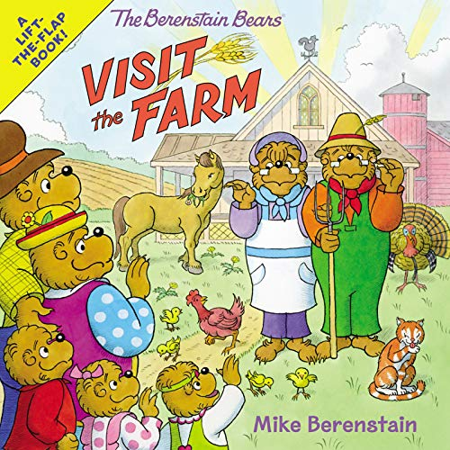 The Berenstain Bears Visit the Farm Lift-the-Flap Book