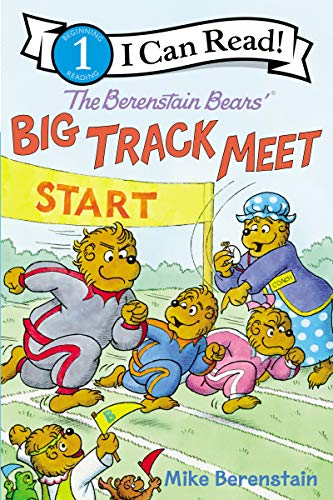 Big Track Meet (The Berenstain Bears', I Can Read! Level 1)