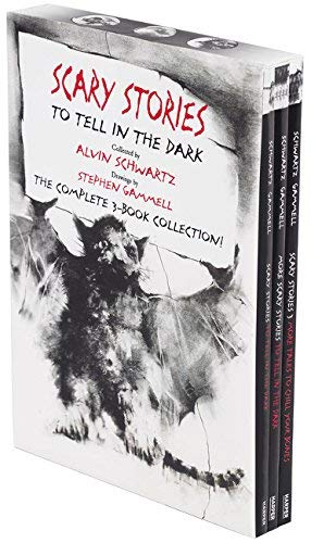Scary Stories To Tell In The Dark (The Complete 3-Book Collection!)