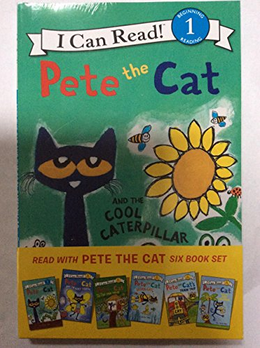 Read With Pete the Cat Six Book Set (My First I Can Read & Level 1)