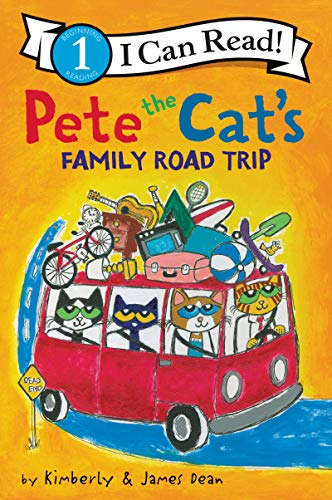 Pete the Cat's Family Road Trip (Pete the Cat, I Can Read/Level 1)