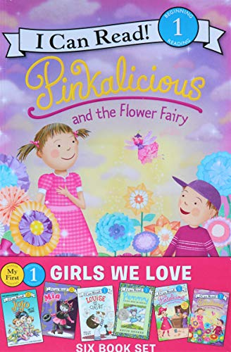 Girls We Love Six Book Set (My First I Can Read! & Level 1)