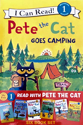 Read with Pet the Cat Six Book Set (My First I Can Read! & Level 1)