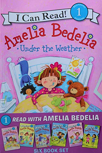 Read With Amelia Bedelia Six Book Set (I Can Read! Level 1)