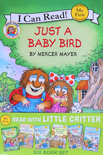 Read with Little Critter Six Book Set (My First I Can Read!)