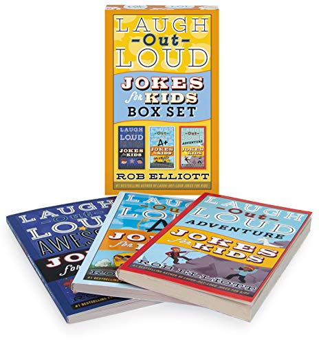 Laugh-Out-Loud Jokes for Kids Box Set (Awesome Jokes for Kids/A+ Jokes for Kids/Adventure Jokes for Kids)