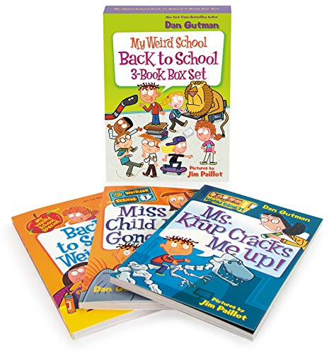 My Weird School Back to School 3-Book Box Set (Ms. Krup Cracks Me Up!/Miss Child Has Gone Wild!/Back to School, Weird Kids Rule!)