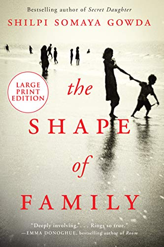 The Shape of Family (Large Print)