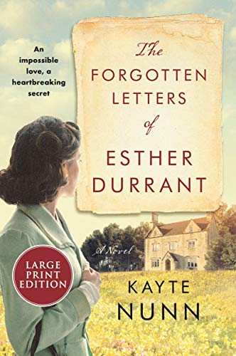 The Forgotten Letters of Esther Durrant (Large Print)