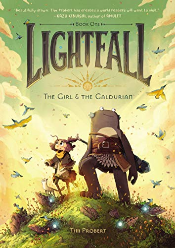 The Girl & The Galdurian (Lightfall, Bk. 1)