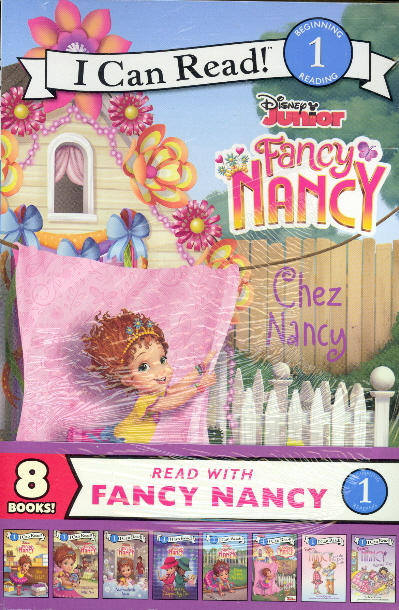 Read with Fancy Nancy: 8 Book Collection (I Can Read Level 1)