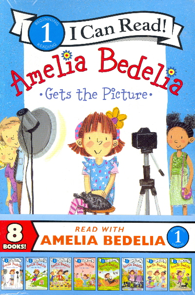 Read with Amelia Bedelia: 8 Book Colletion (I Can Read Level 1)