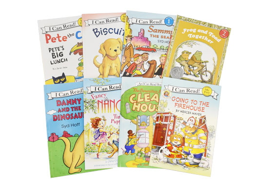 I Can Read 8-Book Set (Level - My First, 1 and 2)