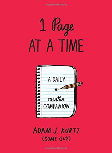 1 Page at a Time:  A Daily Creative Companion (Red)