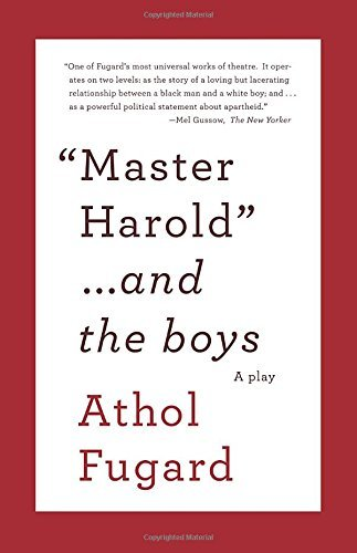 Master Harold and the Boys: A Play (Vintage International)