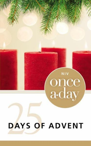 25 Days of Advent  (NIV Once a-day)