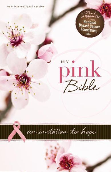 NIV Pink Bible: An Invitation to Hope (NIV/Text, Hot Pink/Pink Italian Duo-Tone)