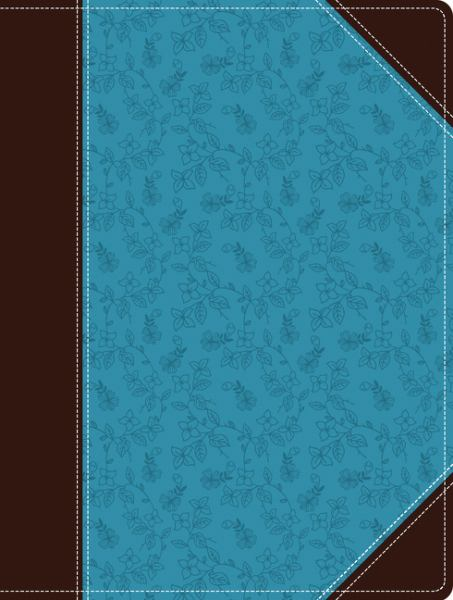 NIV, Holy Bible, Journal Edition (Turquoise/Chocolate Italian Duo-Tone)