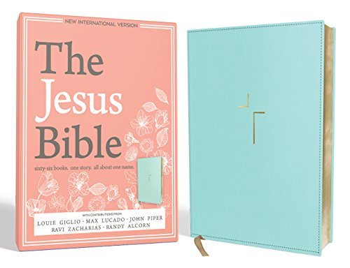 NIV The Jesus Bible (Robins Egg Leathersoft)