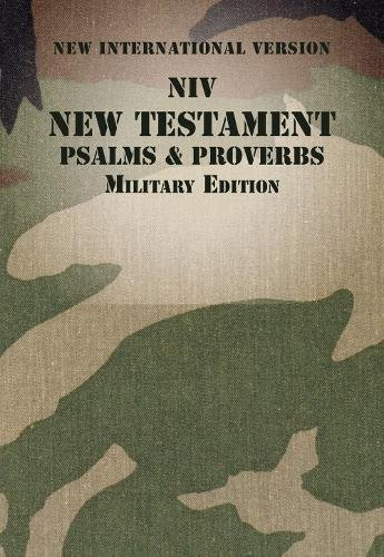 NIV, New Testament with Psalms and Proverbs, Military Edition (Paperback, Woodland Camo)