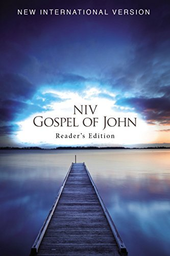 NIV Gospel of John (Reader's Edition)