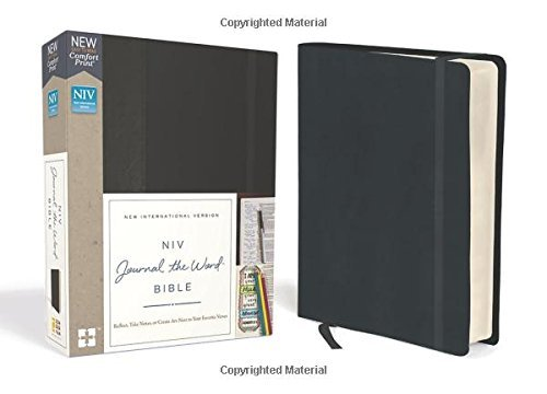 NIV Journal the Word Bible (Black)